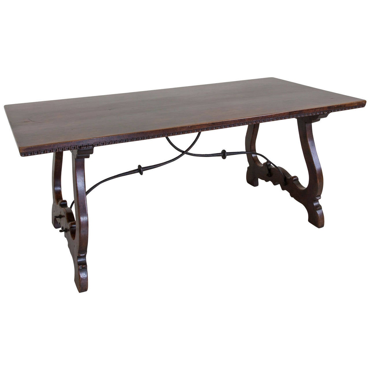 hand carved 19th century spanish renaissance dining table at 1stdibs