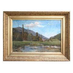 Clovis Frédéric Terraire (1858-1931) Oil on Canvas