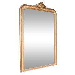 19th Century Regency Mantle or Full Length Gilt Wood Mirror