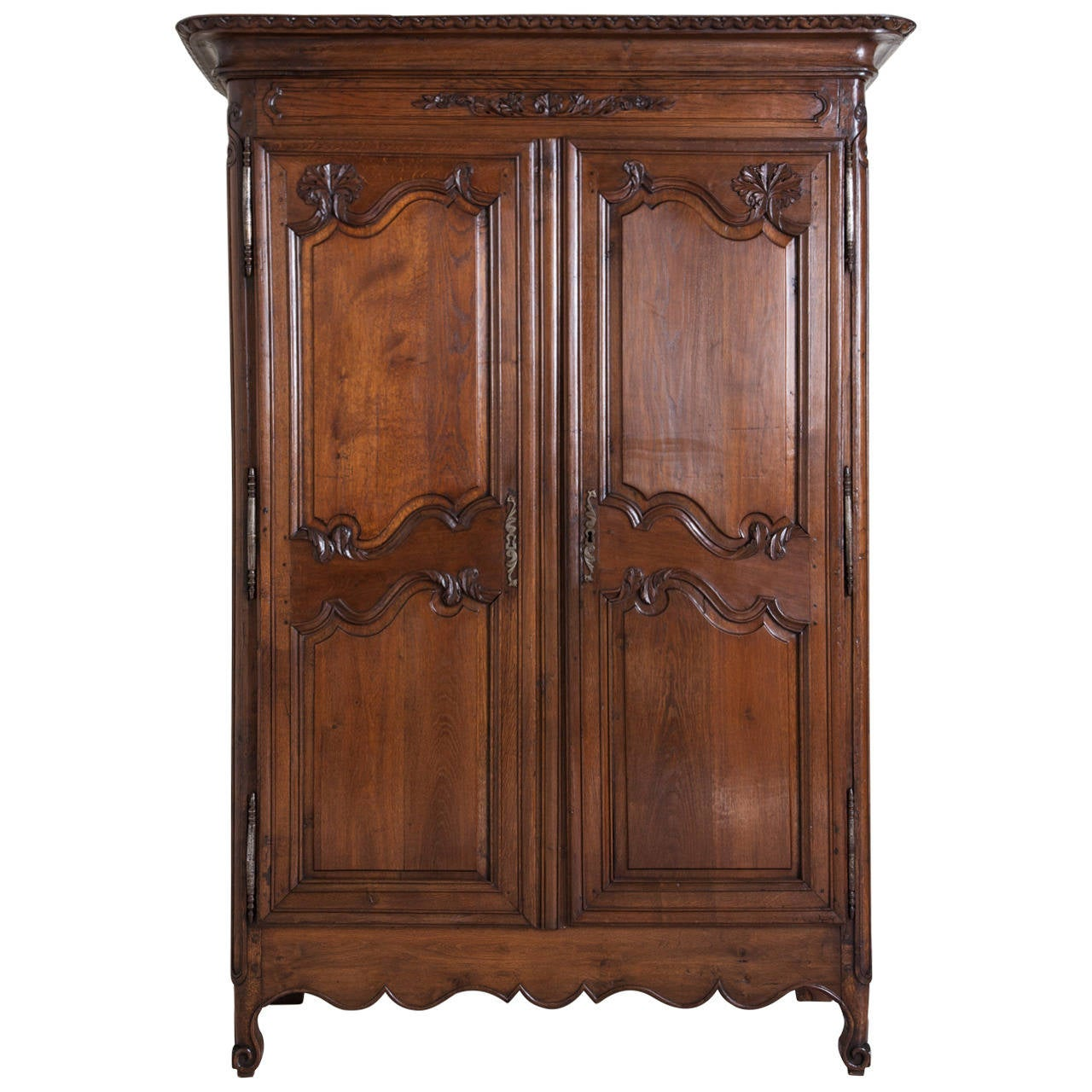 louis xv armoire at 1stdibs. Black Bedroom Furniture Sets. Home Design Ideas