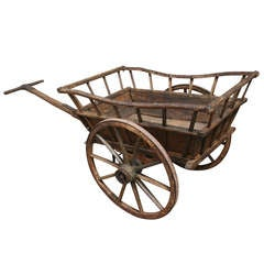 Early 19th Century Normandy Market Cart