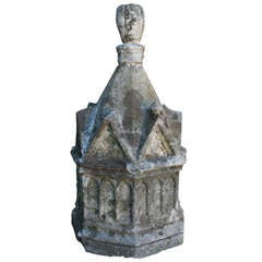 19th Century Limestone Sculpture