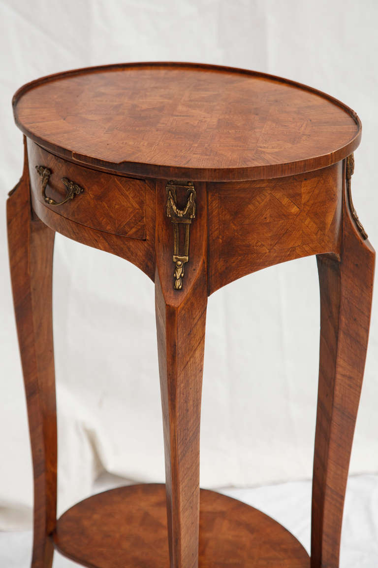 Th century rosewood marquetry side table at stdibs