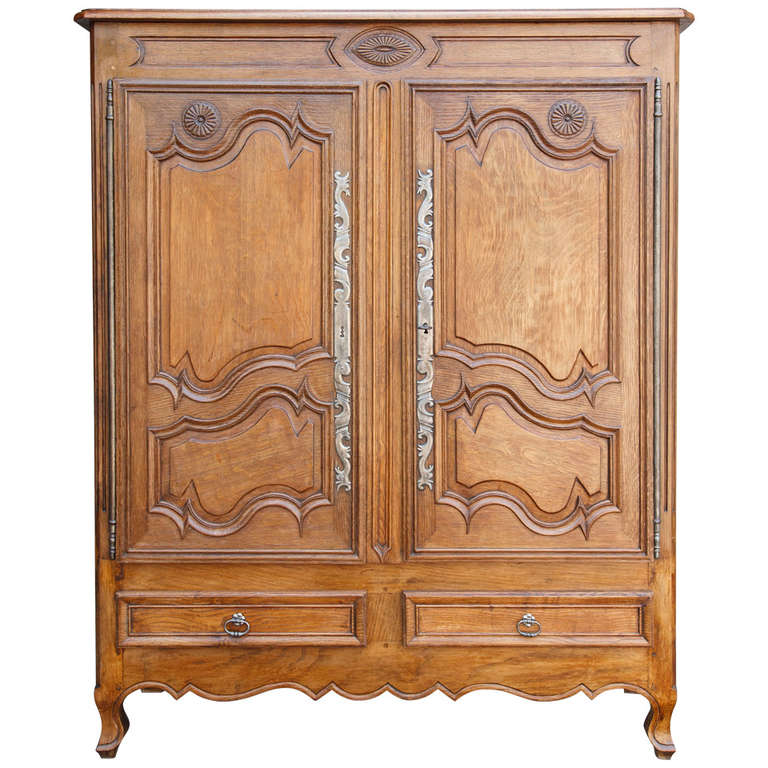 19th century petite armoire or bassette at 1stdibs. Black Bedroom Furniture Sets. Home Design Ideas