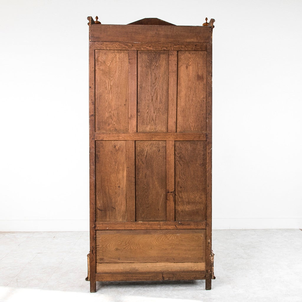Birdseye Maple Armoire Antique French Birdseye Maple And Bamboo Vitrine Or
