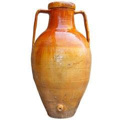 Italian Terracotta Olive Oil Jar