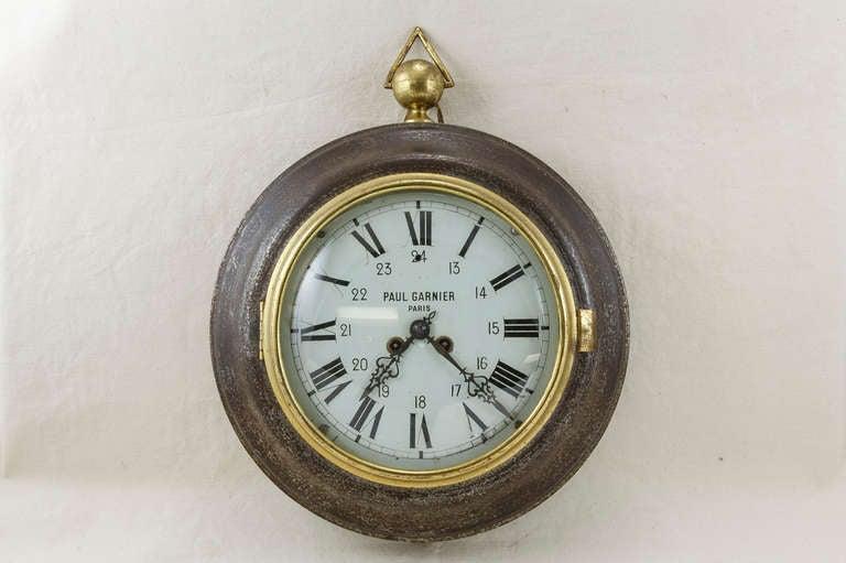 Garnier Wall Clock at 1stdibs