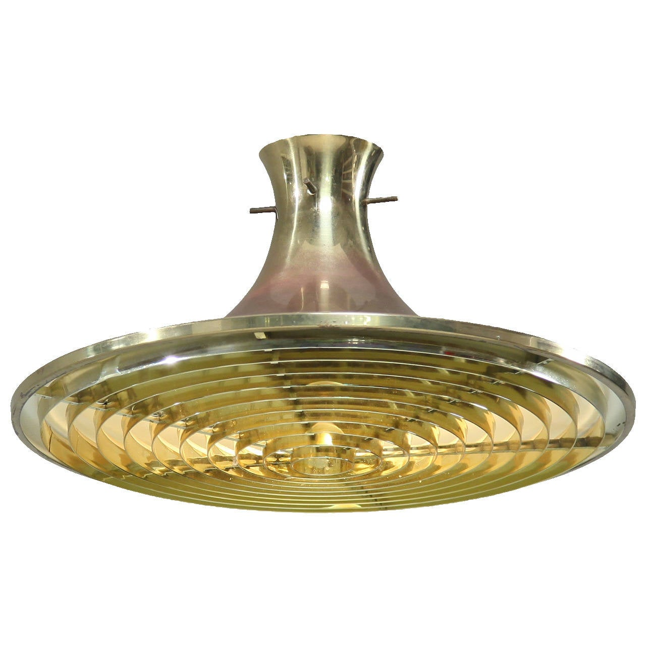 brass hans agne jakobsson ceiling lamp for sale at 1stdibs. Black Bedroom Furniture Sets. Home Design Ideas
