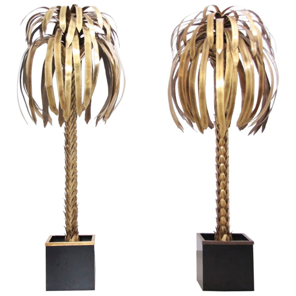 pair of maison jansen palm tree floor lamps is no longer available. Black Bedroom Furniture Sets. Home Design Ideas