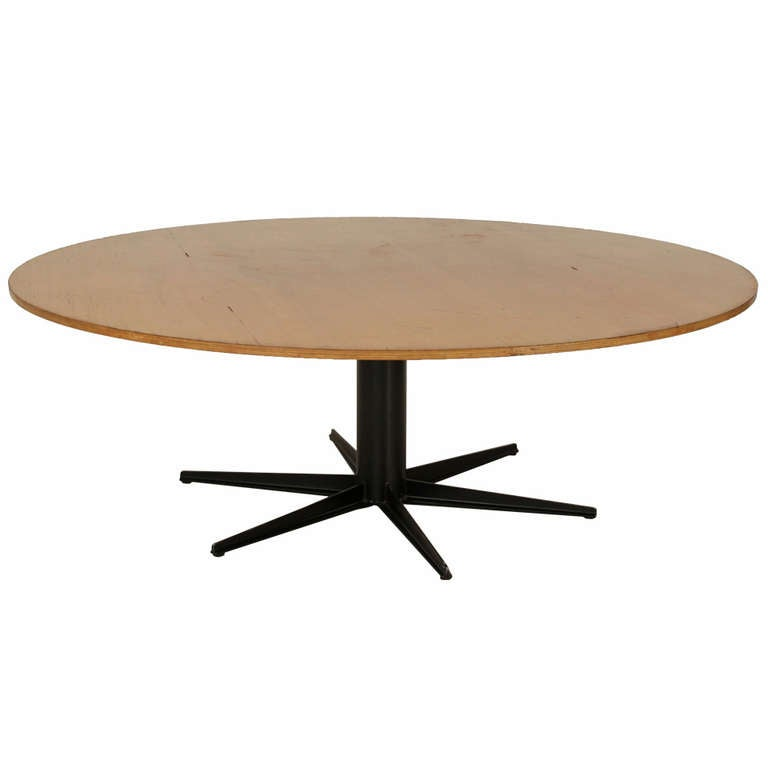 Xxl round industrial table 225 cm 7ft 4 6 inch diameter for Table design xxl