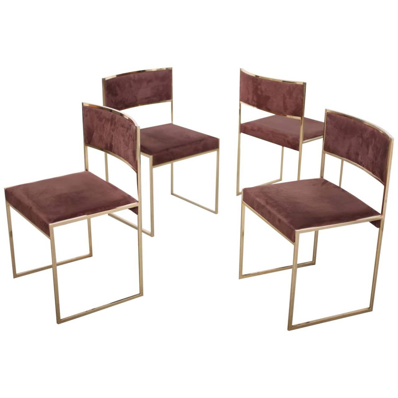Set Of Four Dining Chairs By Rizzo For