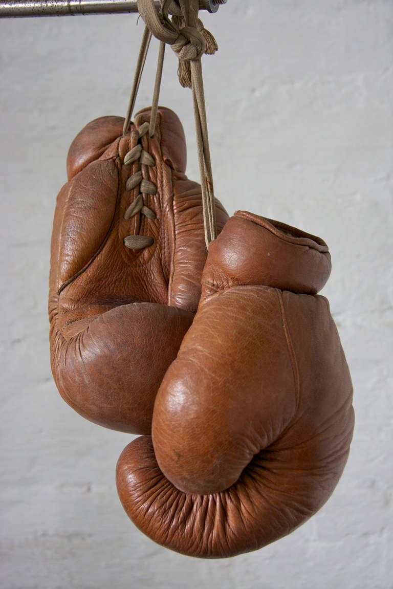 1930s german boxing gloves by deha at 1stdibs