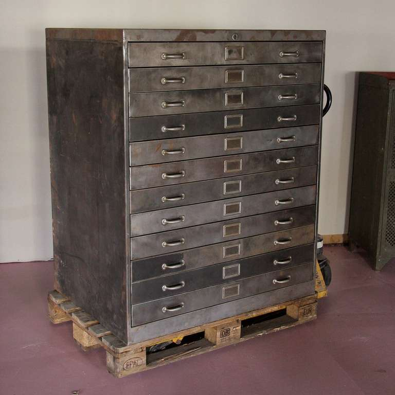 Architectural Chest Of Drawers Plan Cabinet At 1stdibs