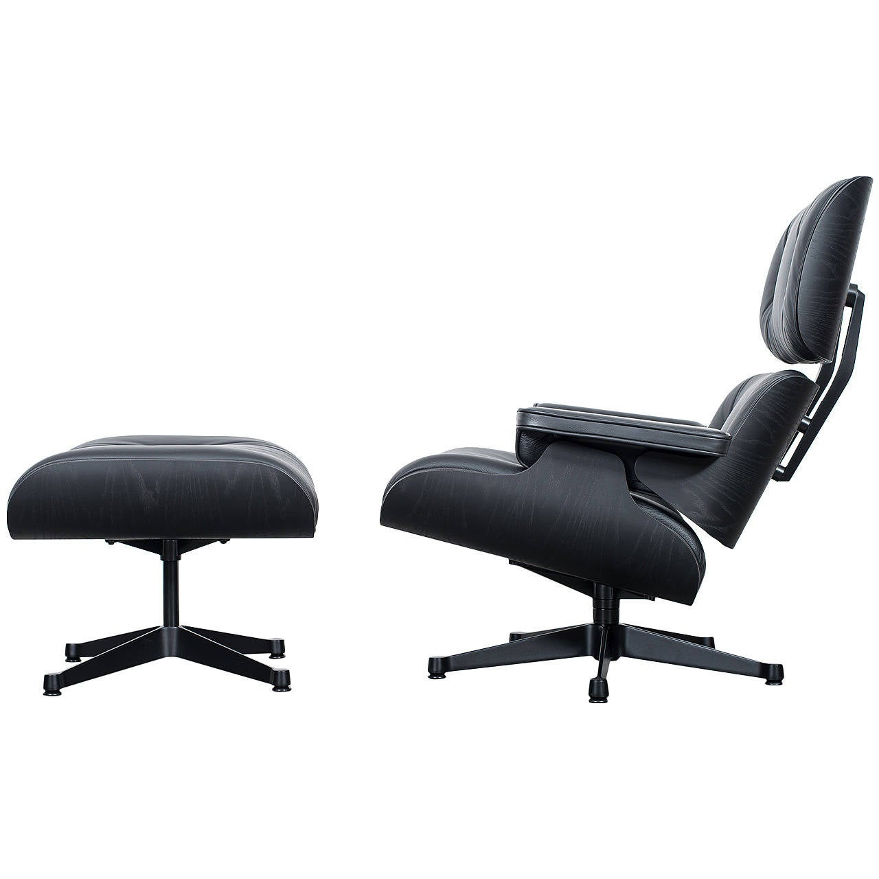 Charles and ray eames lounge chair classic xl vitra at 1stdibs - Fauteuil eames original ...