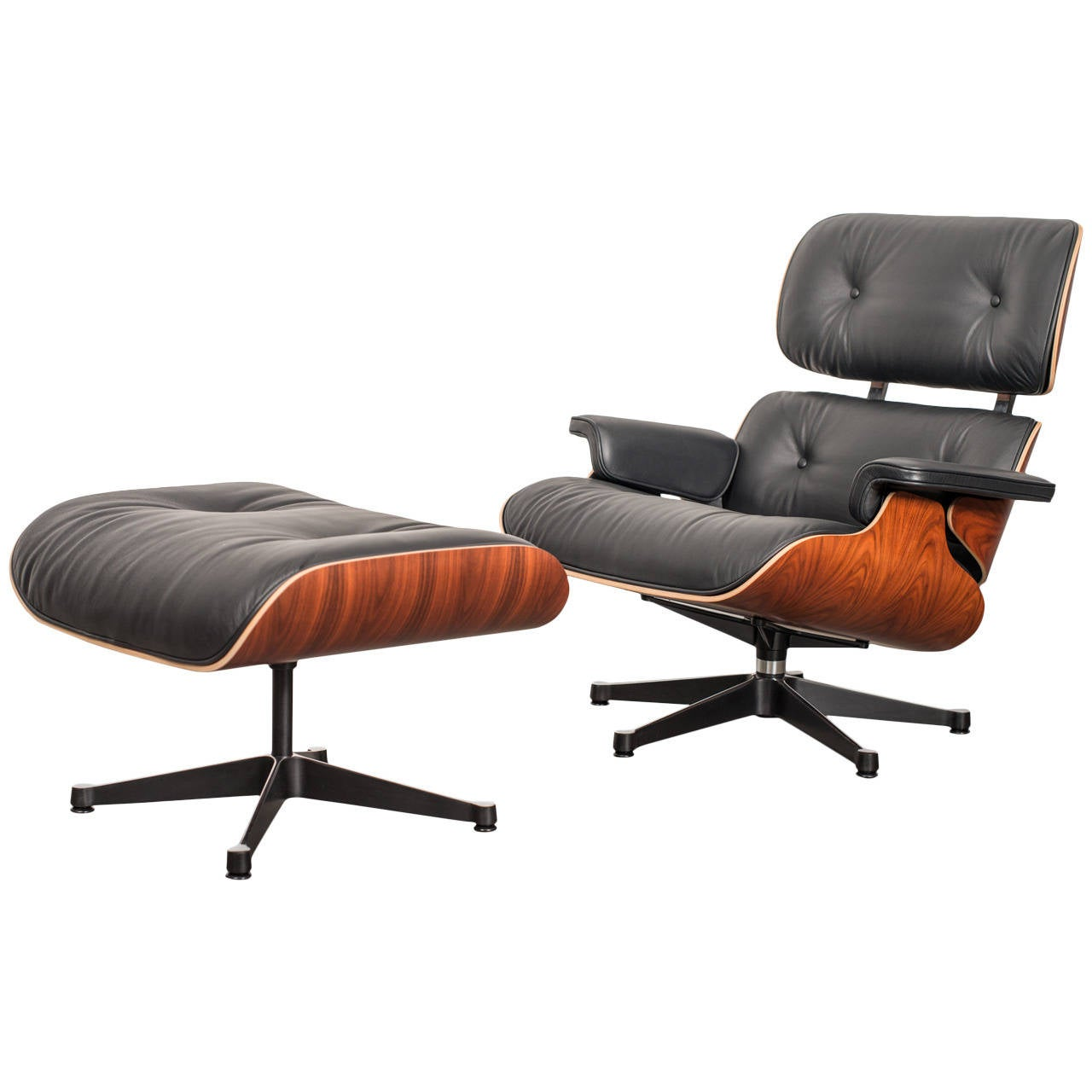 charles and ray eames lounge chair classic xl vitra at 1stdibs. Black Bedroom Furniture Sets. Home Design Ideas