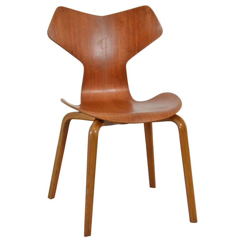 Arne Jacobsen Grand Prix Chair At 1stdibs