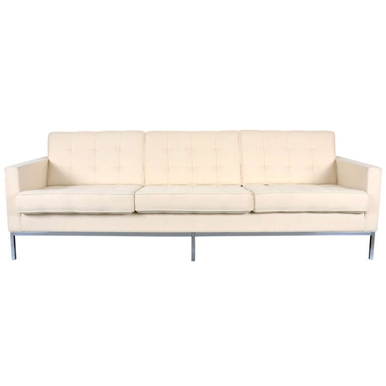 Sofa Florence Knoll At 1stdibs