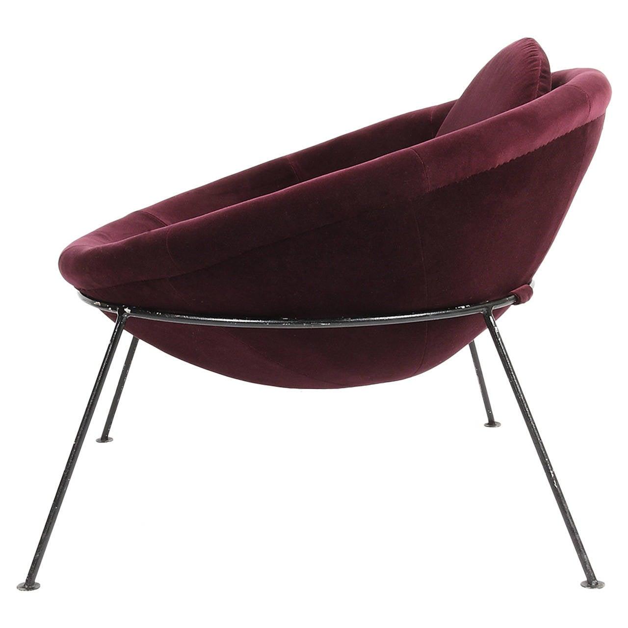 """Lina Bo Bardi's """"Bowl"""" Chair, 1951 at 1stdibs"""
