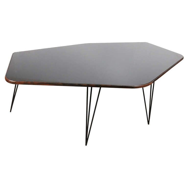 Freeform Table By Joaquim Tenreiro At 1stdibs