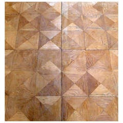 Cottageviertel Oak Parquet Panels