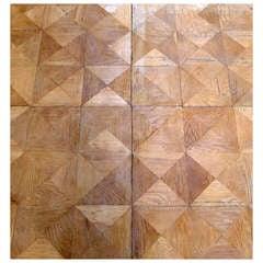 Cottageviertel Oak Parquet Panels