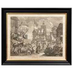 'Southwark Fair' Copper Engraved Print