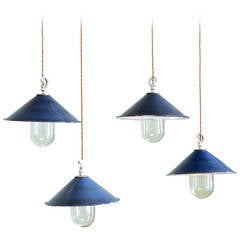 Small Enamel Pendant Lights