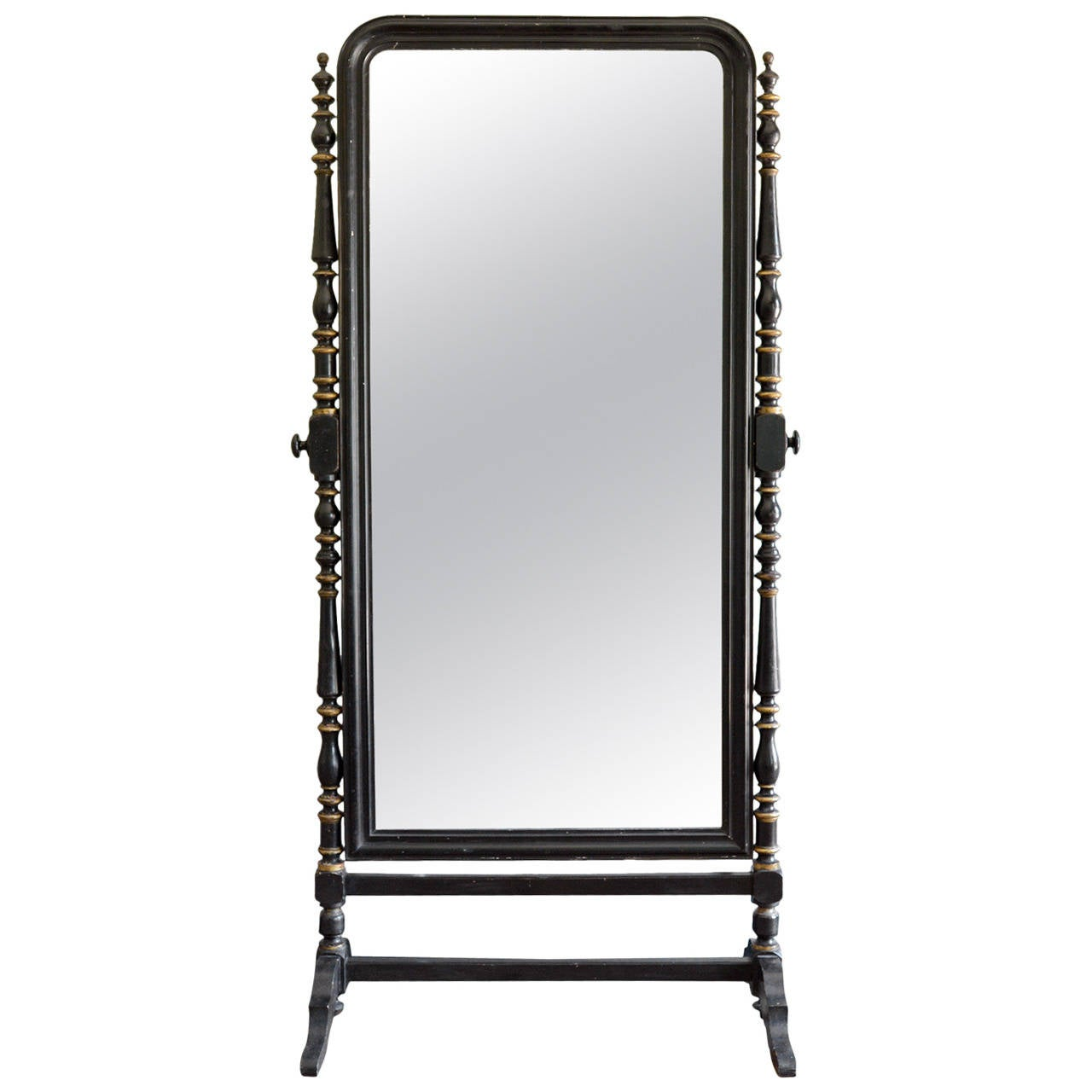 Huge cheval mirror at 1stdibs for Cheval mirror