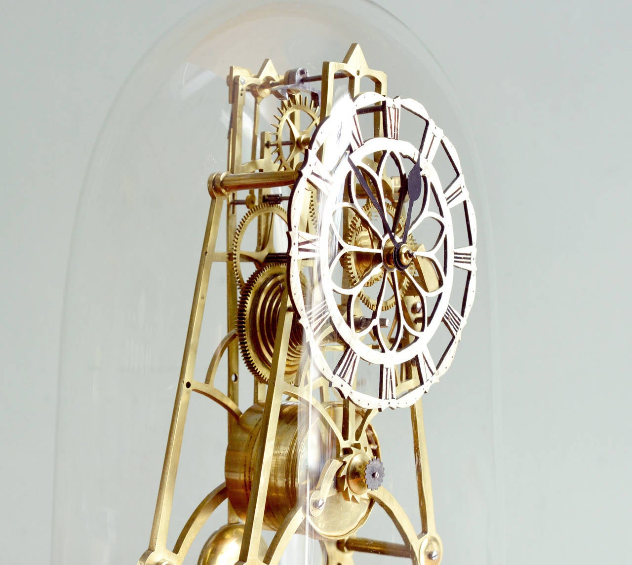 Victorian Skeleton Clock At 1stdibs