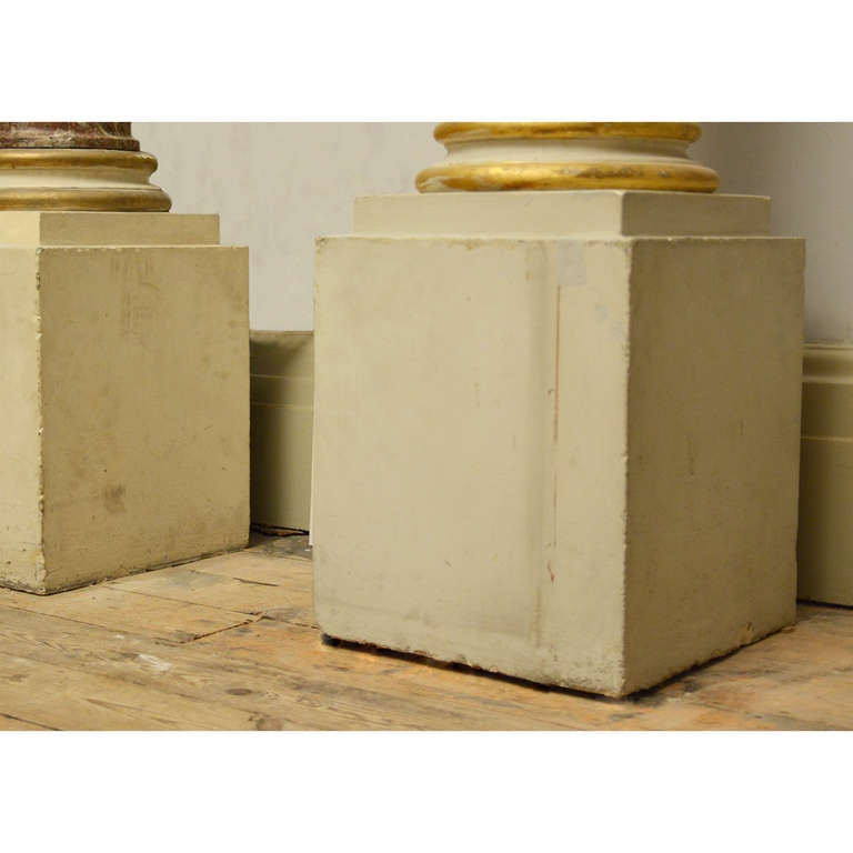Rouge Royale Marble Columns For Sale 1
