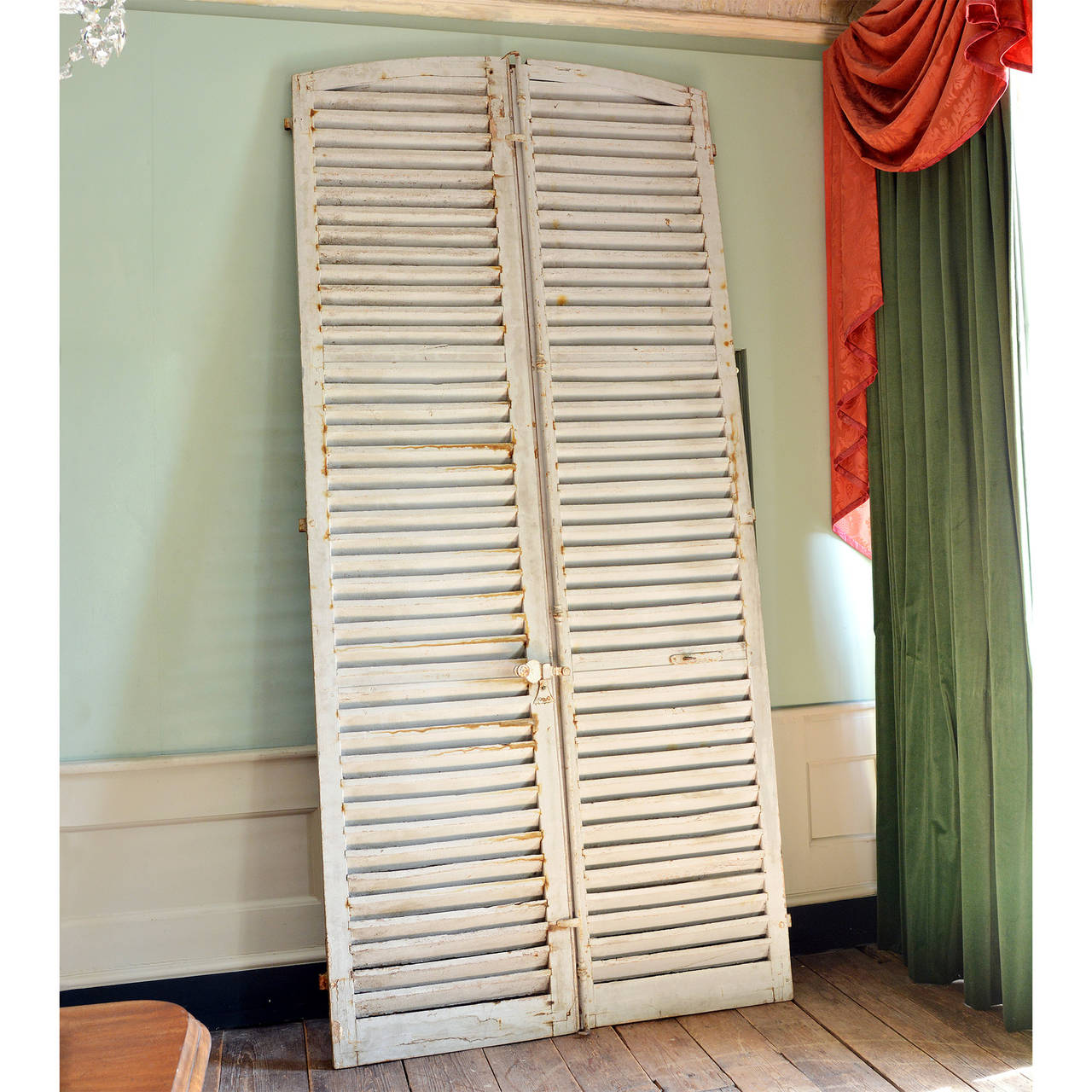 Antique French Louvred Shutters At 1stdibs