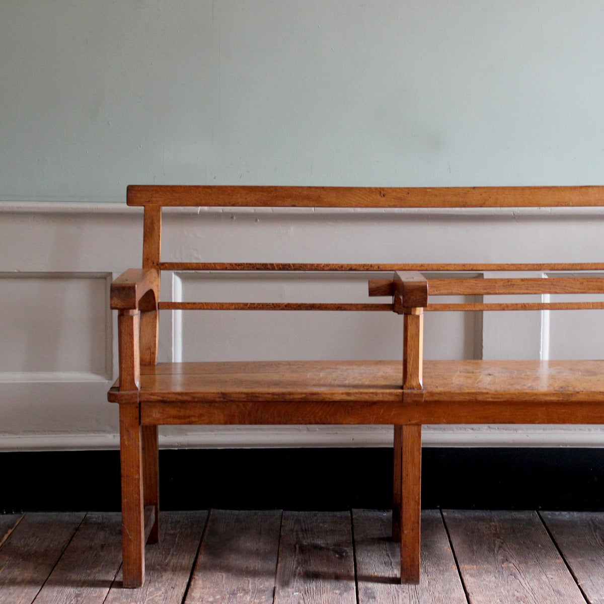 oak hall bench at 1stdibs