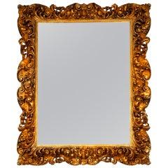 Huge Giltwood Mirror