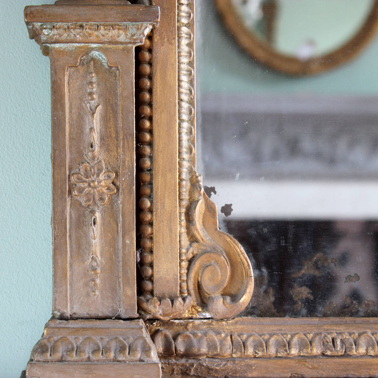 Victorian Overmantle Mirror At 1stdibs