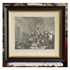 Rake's Progress by William Hogarth