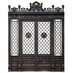 Empire House Bronze Doorway