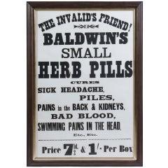 Chemist Shop Advertising Poster
