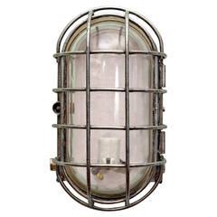 East German Aluminum Bulkhead Lights