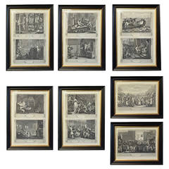Industry and Idleness Prints by William Hogarth