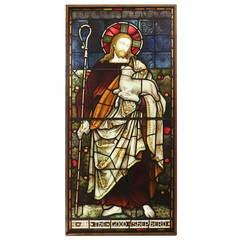"""The Good Shepherd"" Stained Glass Window, circa 1890"