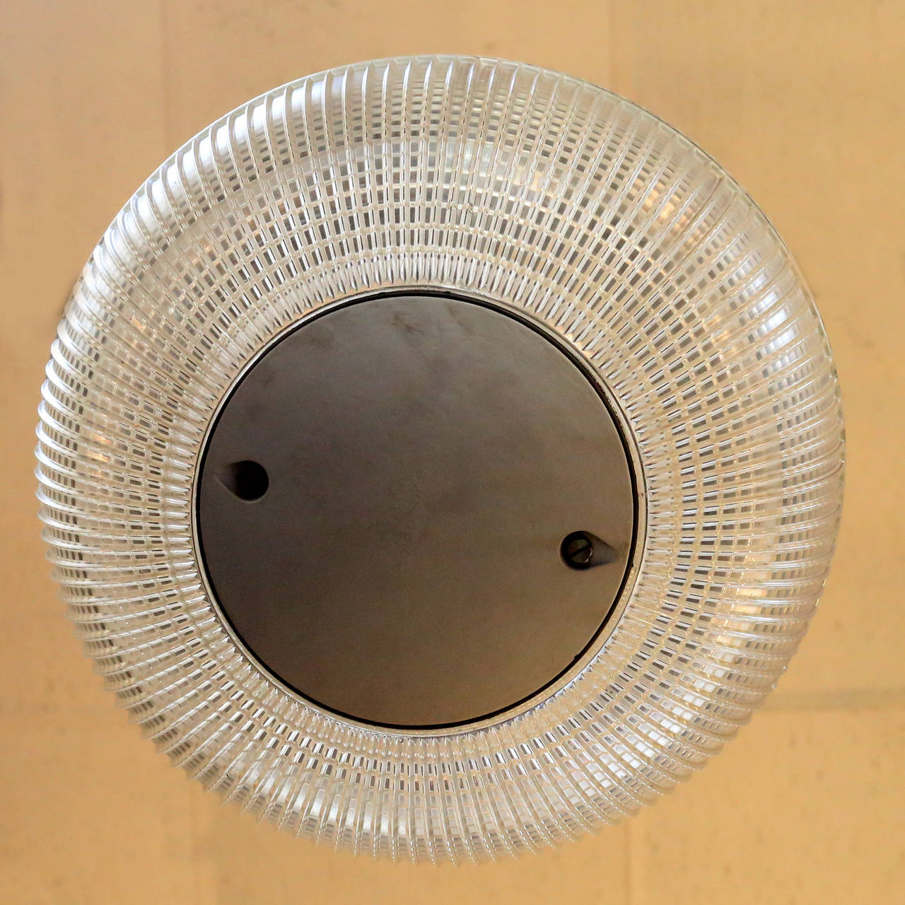 'Europhane' Holophane Pendant Light In Good Condition For Sale In London, GB