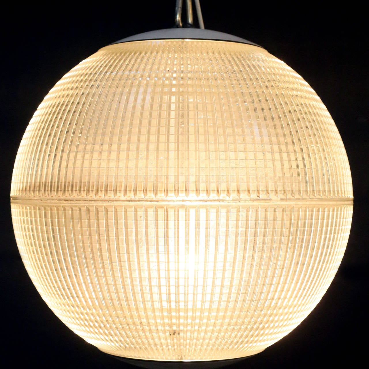 Industrial 'Europhane' Holophane Pendant Light For Sale
