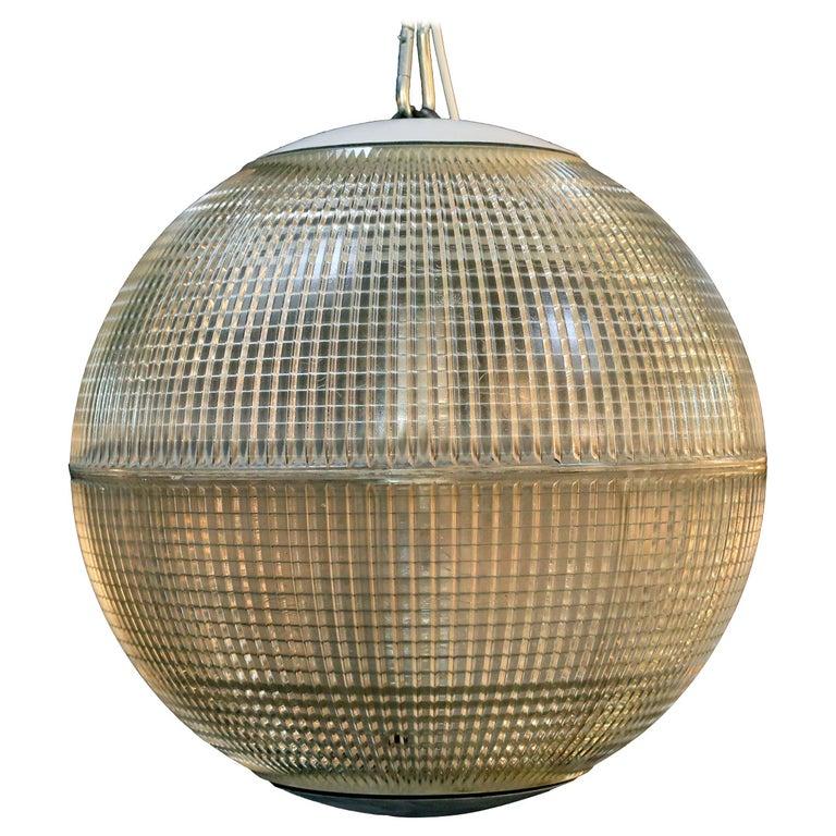 'Europhane' Holophane Pendant Light For Sale