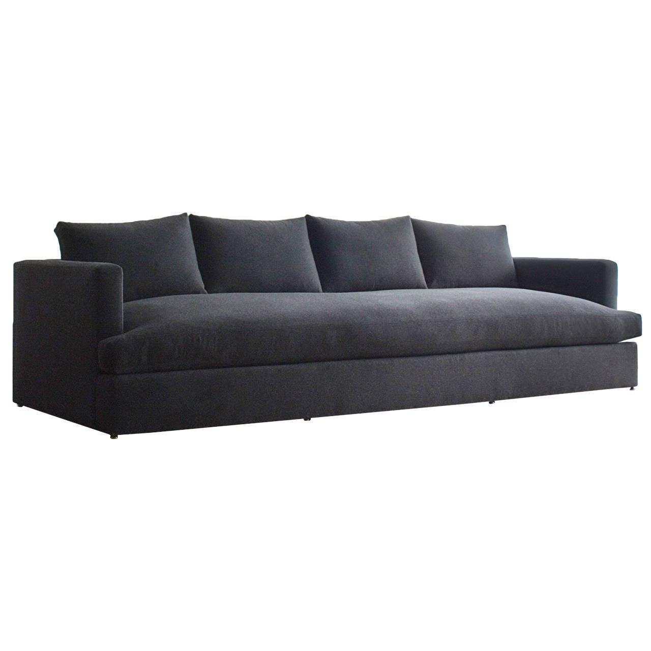 chelsea square deep sofa at 1stdibs