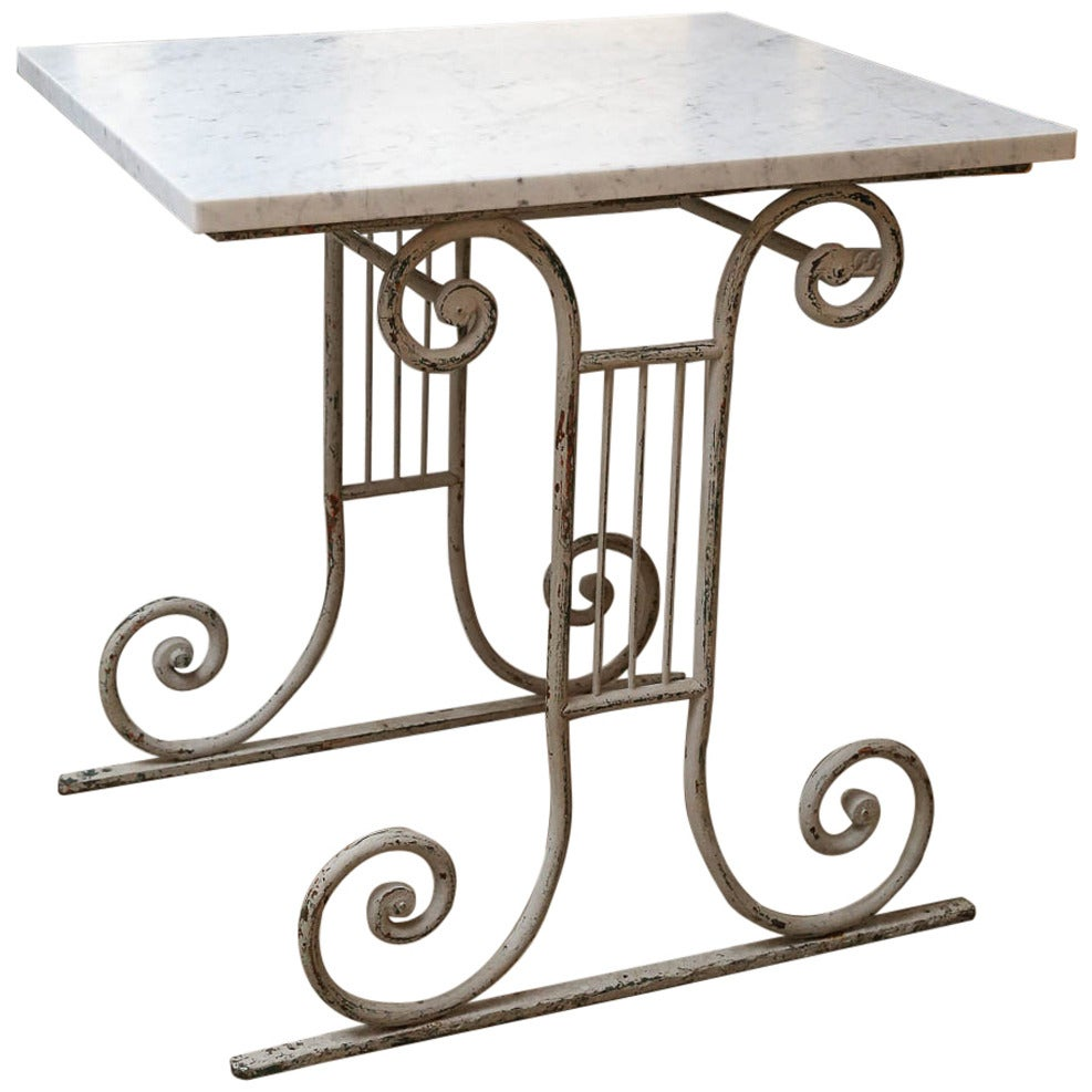 Late 19th Century French Butcher's Table