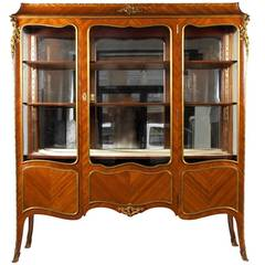 Antique Louis XV Vitrine
