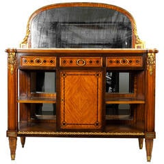Louis XV Marble-Top Server