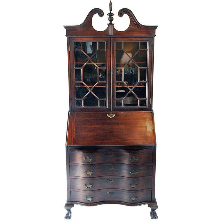 vintage secretary at 1stdibs. Black Bedroom Furniture Sets. Home Design Ideas