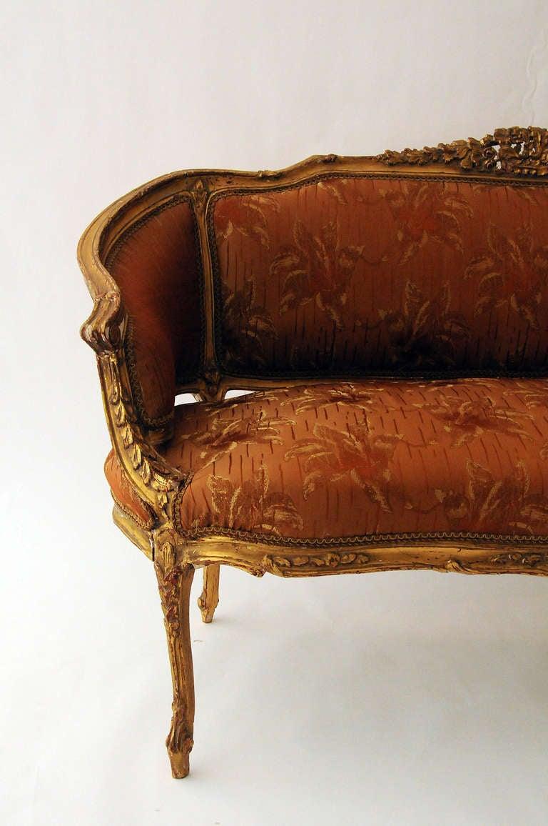 18th C. Louis XVI Settee 5