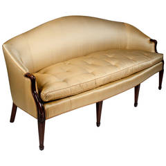 Antique Goose Down Filled Sofa